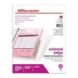 Office Depot Brand Top Loading Sheet