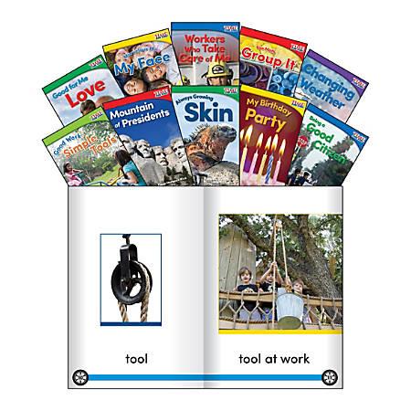 Teacher Created Materials TIME FOR KIDS® Nonfiction Book Set, Set 3, Set Of 10 Books, Kindergarten