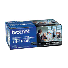 Brother TN 115BK Black Toner Cartridge