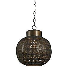 Kenroy Seville 1 Light Mini Hanging