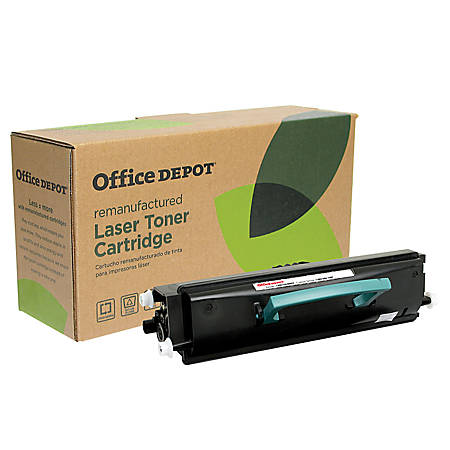 Office Depot® Brand ODE350 (Lexmark E352H11A) Remanufactured High-Yield Black Toner Cartridge
