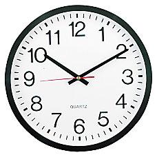 Universal Round Wall Clock 12 58