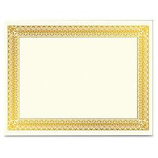 Geographics Gold Foil Certificate Laser Inkjet