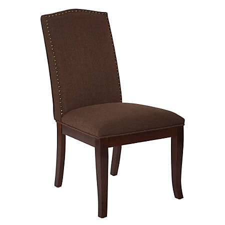 Ave Six Hanson Dining Chair, Klein Chocolate/Espresso