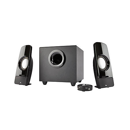 Cyber Acoustics Curve Storm 2.1 Speaker System, Black