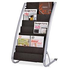 Alba 6 Pocket Vertical Literature Display