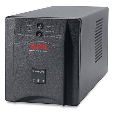 APC by Schneider Electric Smart-UPS 750VA Tower UPS