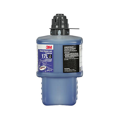 3M™ Glass Cleaner And Protector Concentrate, 67.6 Oz, Case Of 6