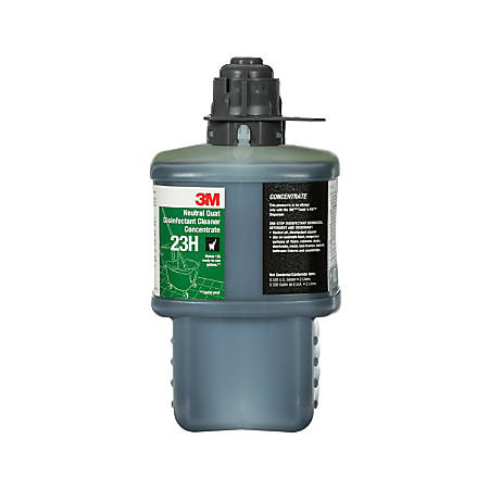 3M™ Neutral Quat Disinfectant Cleaner Concentrate, 67.6 Oz, Case Of 6