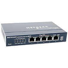 Netgear GS105 ProSafe 5 Port Gigabit