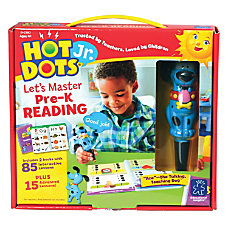 Hot Dots Jr Pre K Reading
