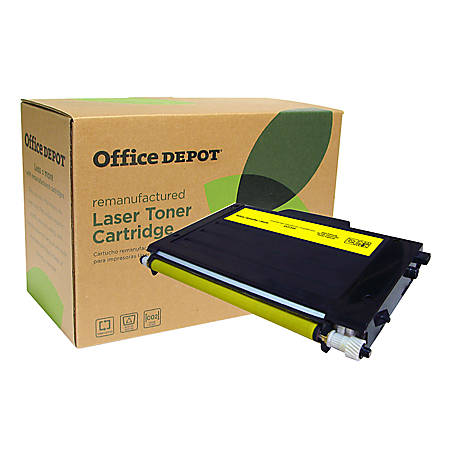 Office Depot® Brand ODSA510Y (Samsung CLP-510D2Y) Remanufactured High-Yield Yellow Toner Cartridge