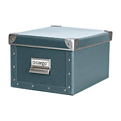 cargo Naturals Media Box Bluestone by Office Depot & OfficeMax