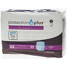 Protection Plus Super Protective Disposable Underwear