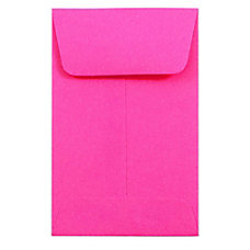 JAM Paper Open End Coin Envelopes