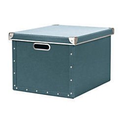 cargo Naturals Dual File Box Bluestone by Office Depot ...