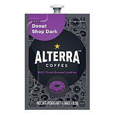 Mars Drinks Alterra Donut Shop Dark