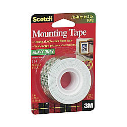 Scotch Foam Mounting Tape 1 x