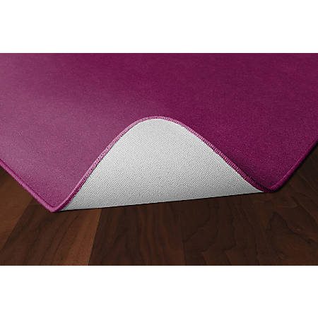 Flagship Carpets Americolors Rug, Rectangle, 6' x 9', Cranberry