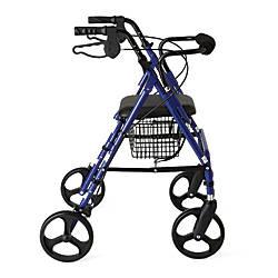 Guardian Aluminum Rollator 8 Wheels Blue