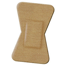 Medline Comfort Cloth Woven Fingertip Bandages