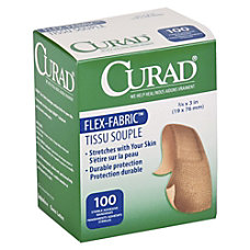 Medline Comfort Cloth Adhesive Fabric Bandages