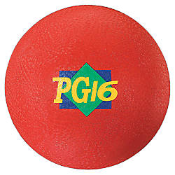 Martin Playground Ball 16 inches Red