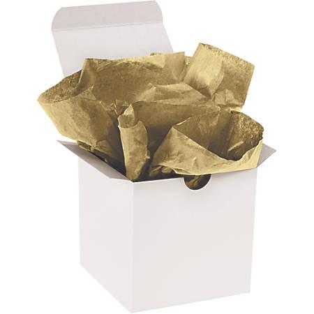 "Office Depot® Brand Gift-Grade Tissue Paper, 20"" x 30"", Metallic Gold, Pack Of 200"