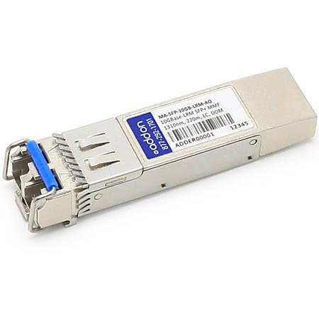 AddOn Cisco Meraki MA-SFP-10GB-LRM Compatible TAA Compliant 10GBase-LRM SFP+ Transceiver (MMF, 1310nm, 220m, LC, DOM)