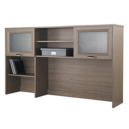 Realspace® Magellan Hutch For Corner/L-Desk, Gray