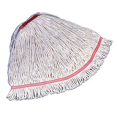 "Rubbermaid Swinger Loop Wet Mop, Medium 5"" Headband, White"