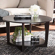 Baxton Studio Kathe Coffee Table Espresso