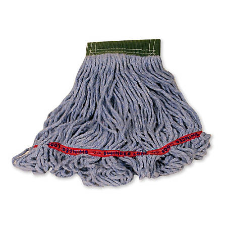 "Rubbermaid Swinger Loop Wet Mop, Large 5"" Headband, Blue"