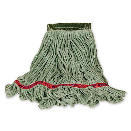 "Rubbermaid Swinger Loop Wet Mop, Large 5"" Headband, Green"
