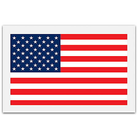 "Office Depot® Brand Packing List Envelopes, 5 1/4"" x 8"", USA Flag, Pack Of 1,000"