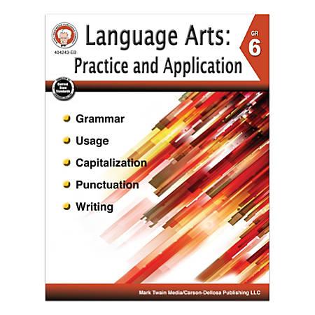 Mark Twain Media Language Arts: Practice And Application, Grade 6