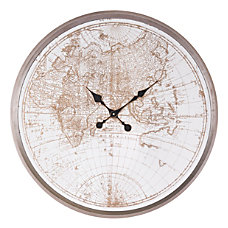 Zuo Modern Hora Mundial Clock Antique