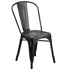 Flash Furniture Commercial Distressed Stackable Chair