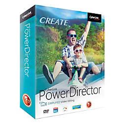 Cyberlink PowerDirector Easy Video Editing 2018