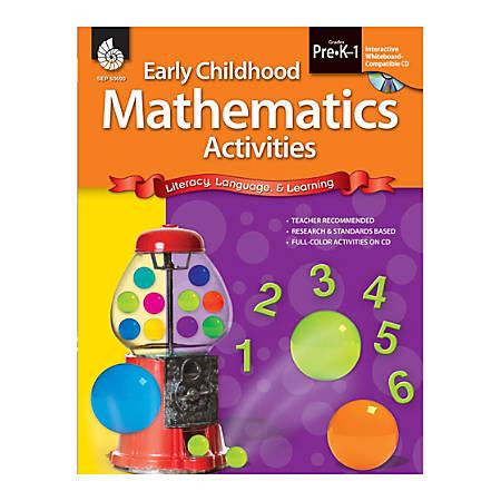 Shell Education Early Childhood Activities Set, Mathematics, Grades Pre K - K