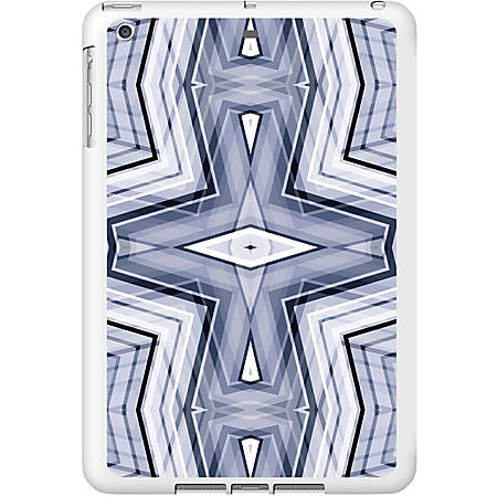OTM iPad Air White Glossy Case New Age Collection, Geometric - For Apple iPad Air Tablet - Geometric - White - Glossy