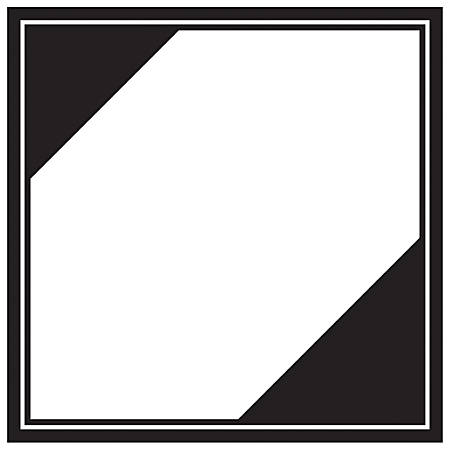 """Tape Logic® Preprinted Shipping Labels, DL1295, Regulated, Square, 4 1/4"""" x 4 1/4"""", Black/White, Roll Of 500"""