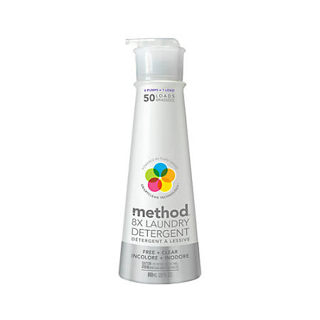 Method™ Laundry Detergent — 50 Loads, 20 Oz., Free & Clear