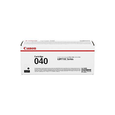 Canon CRG-040BLK Toner Cartridge - Black - Laser - 6300 Pages
