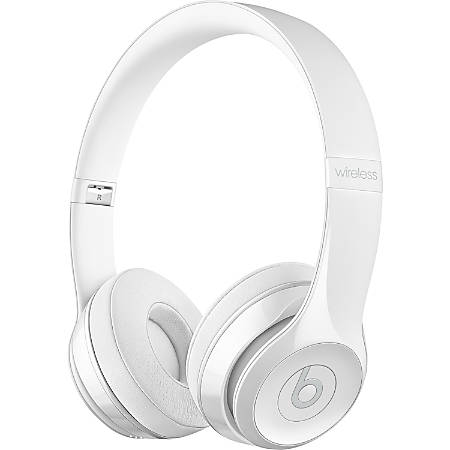 10e64133944 Beats by Dr. Dre Solo3 Wireless On-Ear Headphones - Gloss White - Stereo