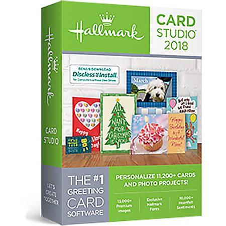 Hallmark Card Studio 2018, Download Version