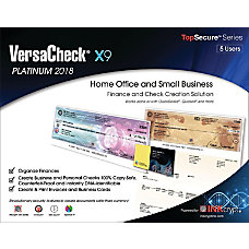 VersaCheck X9 Platinum 2018 For 5