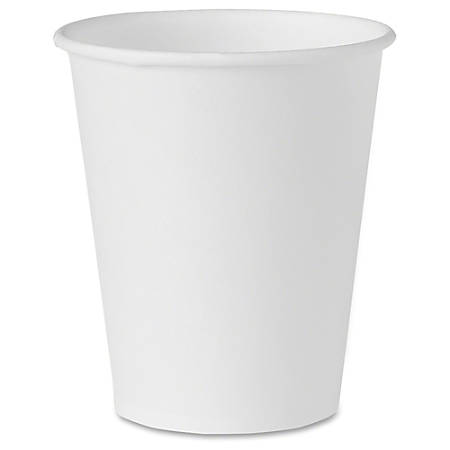 Solo® Treated Paper Water Cup, 4 Oz, Pack Of 100, White