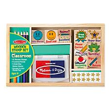 Melissa Doug Classroom Stamp Set Kindergarten