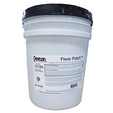 Devcon® Floor Savers Epoxy Floor Patch, 40 Lb